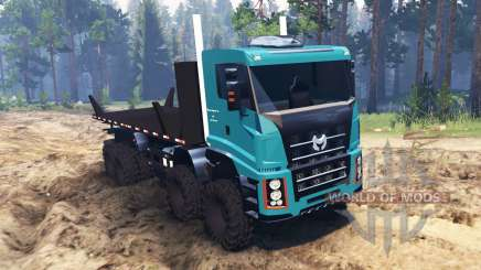 Roneath 8x8 Semi for Spin Tires