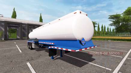 The semitrailer-tank for Farming Simulator 2017