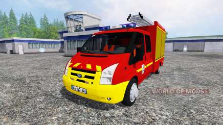 Ford Transit Double Cab VPI for Farming Simulator 2015