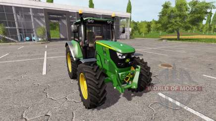 John Deere 6135M v1.0.5 for Farming Simulator 2017
