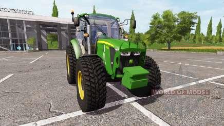 John Deere 5115M v1.5 for Farming Simulator 2017