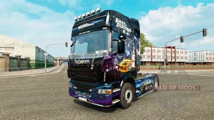 Skin Fast & Furious for Scania truck for Euro Truck Simulator 2