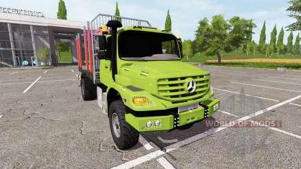 Mercedes-Benz Zetros timber for Farming Simulator 2017