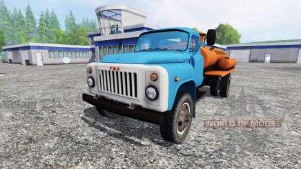 GAZ-53 Flammable for Farming Simulator 2015