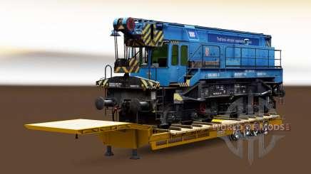Semi-trailers with zeleznodoroznyj the line v1.6.1 for Euro Truck Simulator 2