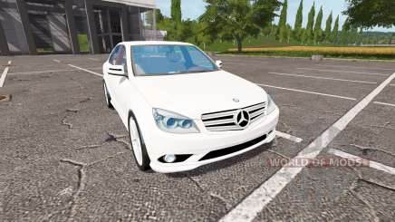 Mercedes-Benz C350 for Farming Simulator 2017