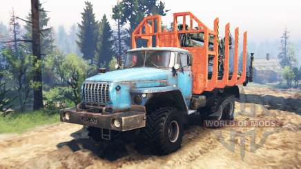 Ural 4320-10 v2.0 for Spin Tires