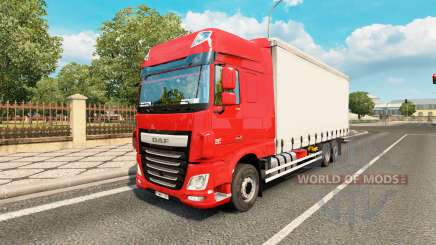 DAF XF Space Cab tandem for Euro Truck Simulator 2