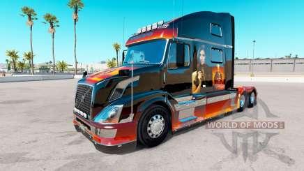 Skin Girl on the truck Volvo VNL 780 for American Truck Simulator