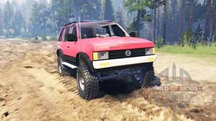 Nissan Pathfinder (WD21) 1994 for Spin Tires