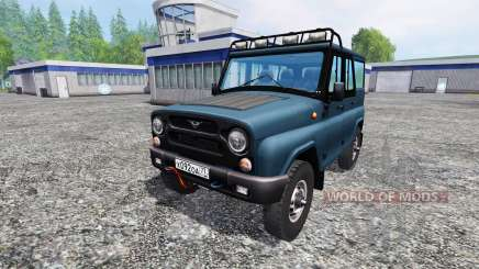 UAZ 315195 hunter for Farming Simulator 2015