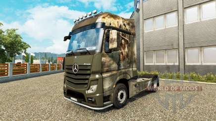 Skin Crusade for tractor Mercedes-Benz for Euro Truck Simulator 2