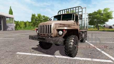 Ural-4320 truck v2.0 for Farming Simulator 2017