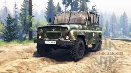 UAZ-469 v2.0 for Spin Tires