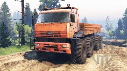 KamAZ-6560 8x8 North v2.0 for Spin Tires