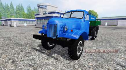 ZIL 157 tank for Farming Simulator 2015