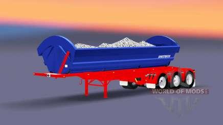 Dump trailer SmithCo for Euro Truck Simulator 2