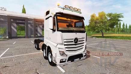 Mercedes-Benz Actros (MP4) 8x8 v1.4 for Farming Simulator 2017