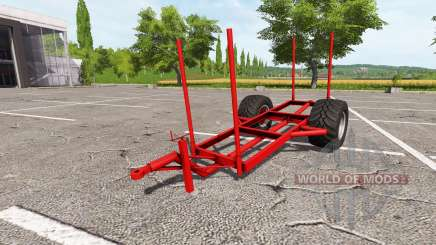 Trailer for wood for Farming Simulator 2017