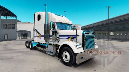 Скин Pork Chop Express на Freightliner Classic for American Truck Simulator