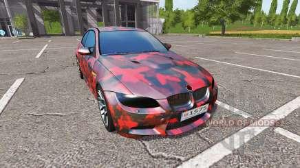 BMW M3 (E92) for Farming Simulator 2017