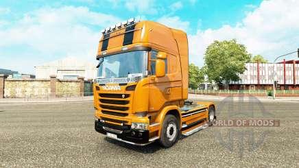 Camaro skin for Scania truck for Euro Truck Simulator 2