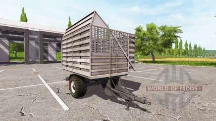 The trailer-truck for Farming Simulator 2017