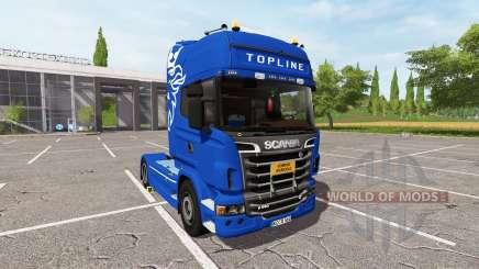 Scania R560 Schwarzmuller for Farming Simulator 2017