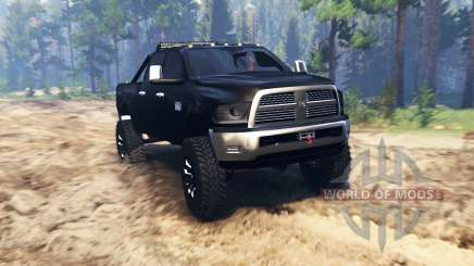 Dodge Ram 2500 2014 for Spin Tires