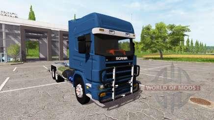Scania 124L 420 6x4 HookLift for Farming Simulator 2017
