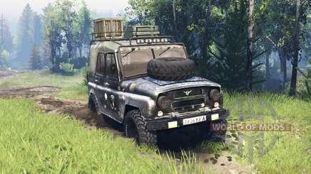 UAZ-469 v4.0 for Spin Tires