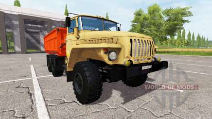 Ural 5557 for Farming Simulator 2017