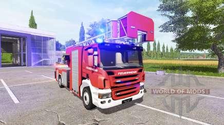 Scania P420 feuerwehr for Farming Simulator 2017