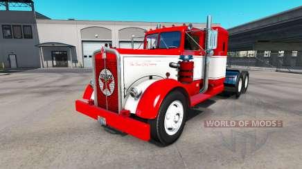 The skin on the truck Texaco Kenworth 521 for American Truck Simulator