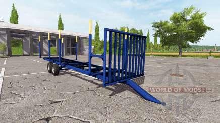 Timber trailer v1.0.1 for Farming Simulator 2017