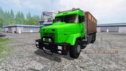 KrAZ-64431 v1.1 for Farming Simulator 2015