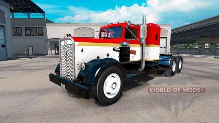 Skin on Gregs truck Kenworth 521 for American Truck Simulator