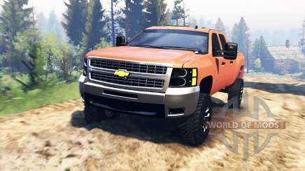 Chevrolet Silverado 2500 v2.0 for Spin Tires