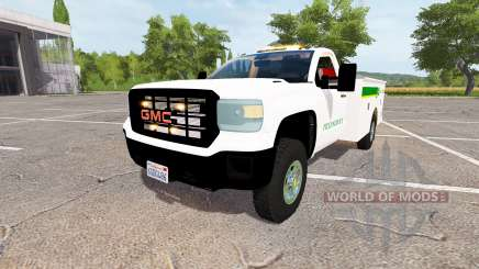 GMC Sierra 3500HD service v2.0 for Farming Simulator 2017