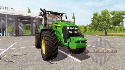 John Deere 7730 v2.0 for Farming Simulator 2017