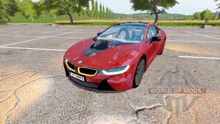 BMW i8 (I12) v1.1 for Farming Simulator 2017