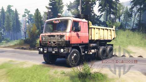 Tatra 815 S1B v2.0 for Spin Tires