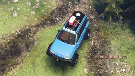 Suzuki Grand Vitara v5.0 for Spin Tires