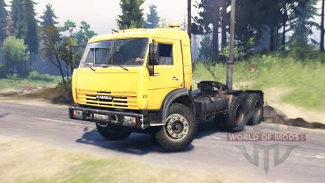 KamAZ 54115 v5.0 for Spin Tires