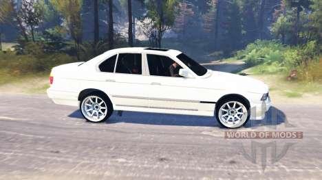 BMW 750Li (E38) v6.0 for Spin Tires