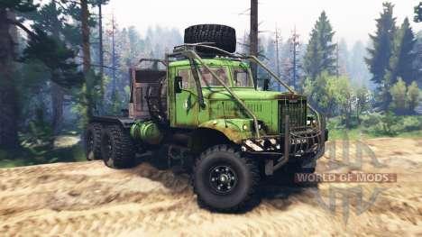 KrAZ 255B v2.0 for Spin Tires