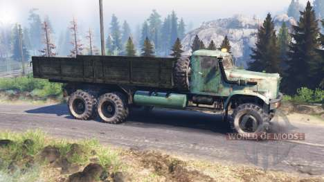 KrAZ 257 v3.0 for Spin Tires