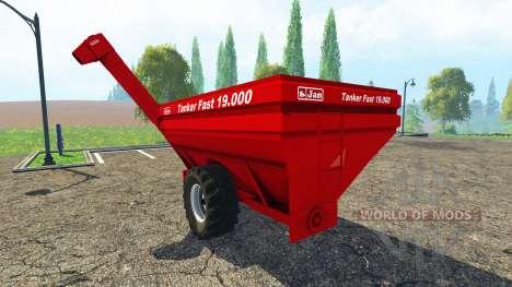Jan Tanker Fast 19.000 for Farming Simulator 2015