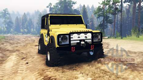 Land Rover Defender 90 for Spin Tires