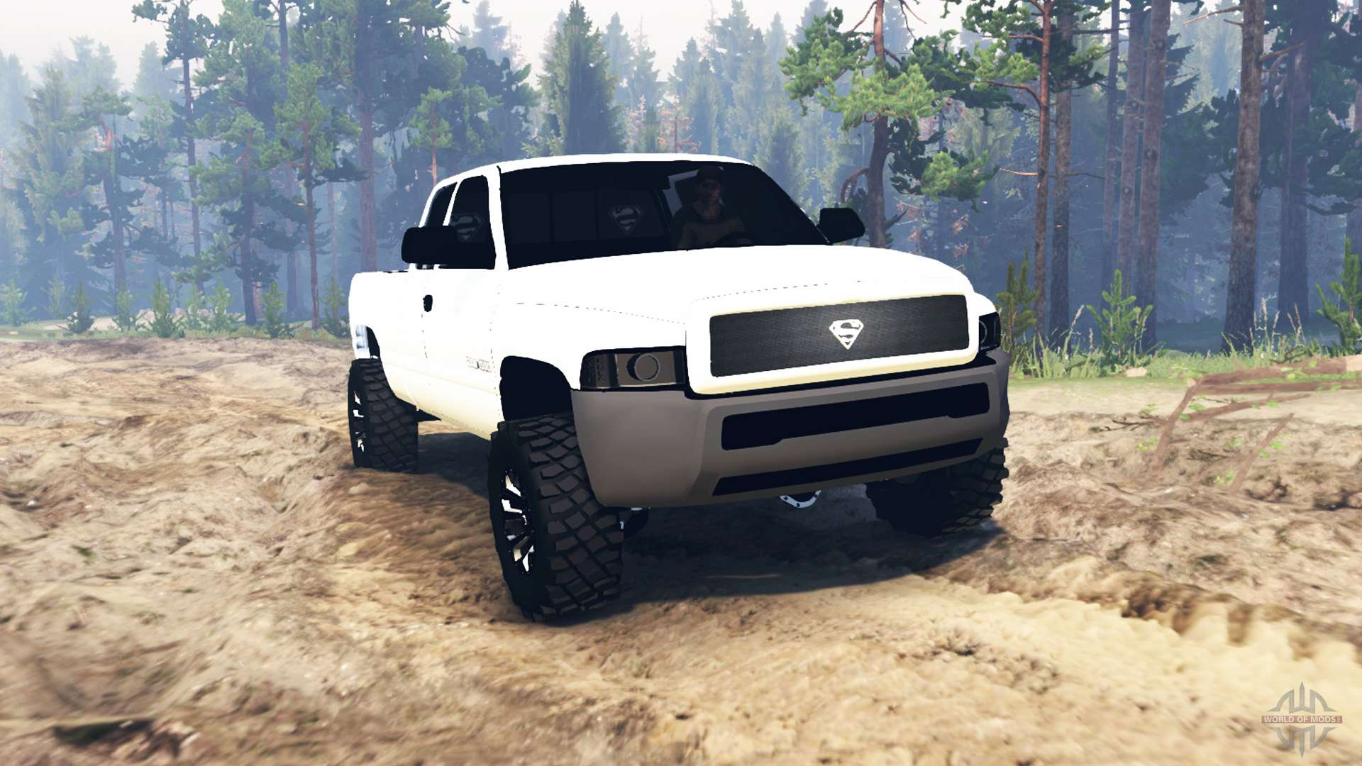 Dodge Ram 1500 03 03 16 for Spin Tires